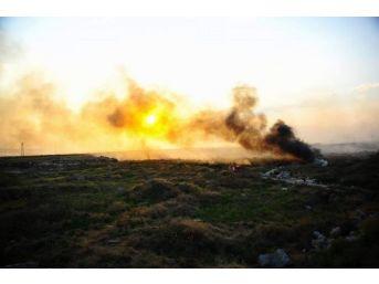 Afyonkarahisar'da Çöp Yangını