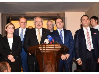 Ak Parti Ve Chp Koalisyon Heyetlerinin Son İstikşafi Görüşmesi