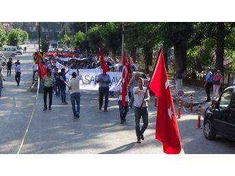 Bolu'da Şehit Ziya Sarpkaya'yı Anma Yürüyüşü