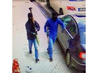 Yüksekova Emniyet Müdürlüğü'ne Saldıran Roketatarlı İki Pkk'lı Kamerada