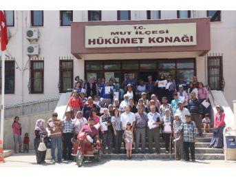 Mut'ta İhtiyaç Sahiplerine 63 Konutun Anahtarı Teslim Edildi