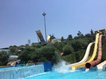 Aquaparkta İnanılmaz Kaza