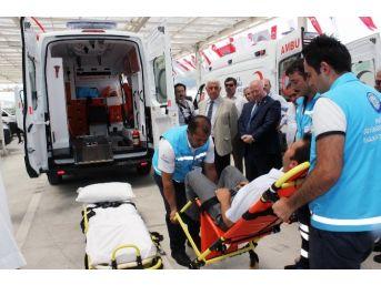 Büyükşehir'e 4 Yeni Hasta Nakil Ambulansı