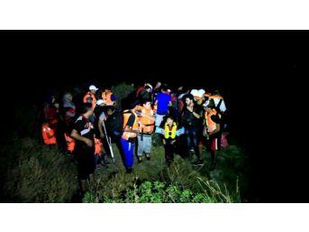 Göçmenler Kaçamadan Yakalandı