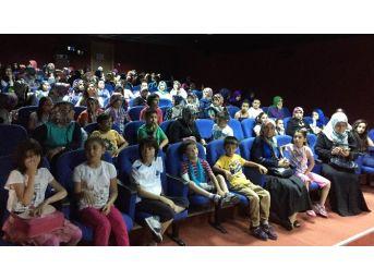Pursaklar Belediyesi Sinema Tebessüm'de 'aşkın Sesi' Filmine Büyük İlgi