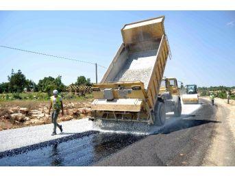 Büyükşehir Belediyesi Asfaltlanan Yolları Hizmete Sundu
