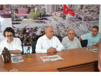 Erdemli Belediye Başkanı Mükerrem Tollu, Ogc'yi Ziyaret Etti