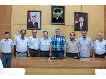 Başkan Toçoğlu, Kaynarcalı Muhtarları Makamında Ağırladı