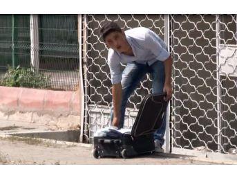 Adana'da Şüpheli Bavul Paniği