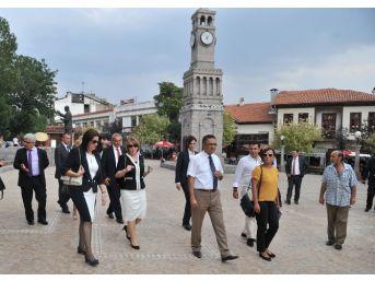 Makedonya First Lady'si Hamamönü'nde