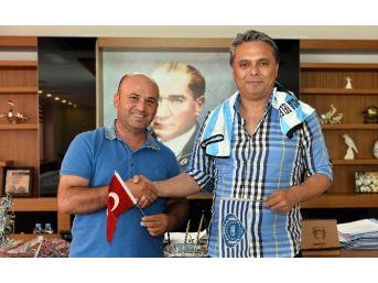 Gazipaşa Belediyespor'dan, Başkan Uysal'a Teşekkür