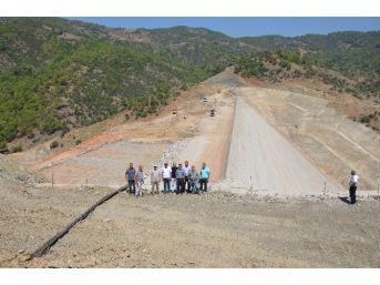 Özgür, Gökçeler Barajı İkmal İnşaatını İnceledi