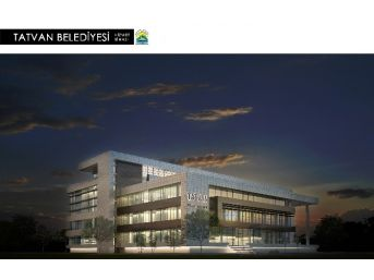 Tatvan Belediyesi Yeni Binasına Kavuşuyor