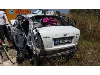 Çorum'da Kaza: 4'ü Çocuk 8 Yaralı