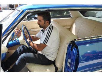 Samanlıktan Çıkan Klasik Otomobil,baştan Aşağı Yenilendi