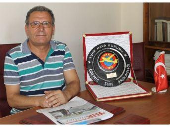 Ödemiş Thk 85 Bin Tl'lik Bağışla İzmir Birincisi Oldu