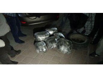 Kırıkkale'de 40 Kilo Esrar Ele Geçirildi