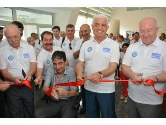 Muğla Büyükşehir Belediyesi Spor Salonu Açtı
