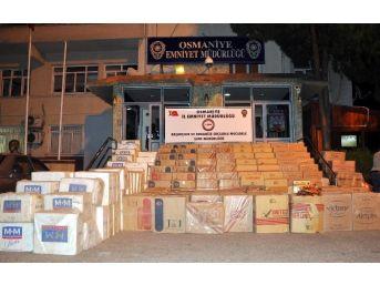 Osmaniye Emniyeti Kaçak Sigaraya Geçit Vermiyor