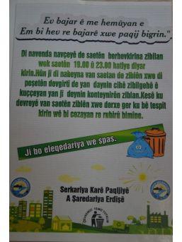 Erciş Belediyesi Çöp Poşetleme Sistemine Geçiyor