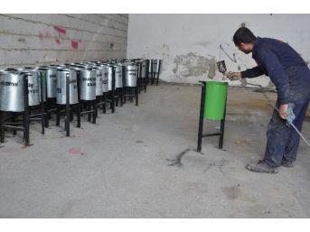 Erciş Belediyesi'nden Hummalı Çalışma