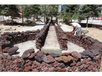 Erciş'te Park Yapımı