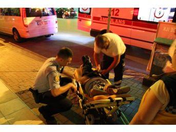 Zonguldak'ta Alkollü Kişi Hastanelik Oldu