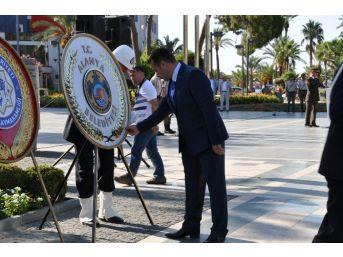 Alanya'da 30 Ağustos Zafer Bayramı Kutlandı