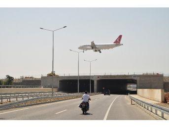 Gazipaşa Alanya Havalimanı'nda Pist Uzatma Çalışması