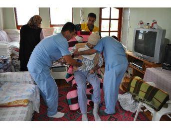Gazipaşa'da 361 Hastaya Evinde Hizmet Verildi
