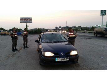 Manavgat Jandarma'dan Köpekli Huzur Operasyonu