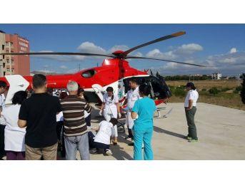 Hava Ambulansı Can Kurtarmaya Devam Ediyor