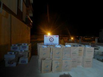 Bitlis'te 63 Bin Paket Kaçak Sigara Ele Geçirildi