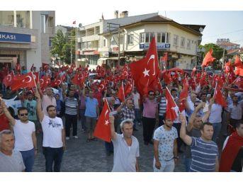 Sarayköy'de Terörü Protesto Yürüyüşü