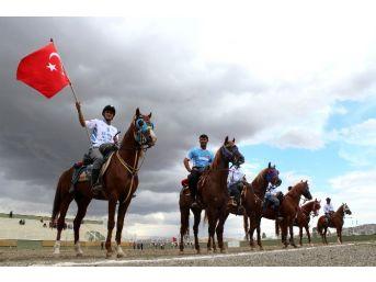 Atlı Cirit Türkiye Şampiyonası Çeyrek Final Maçları Erzurum'da Başladı