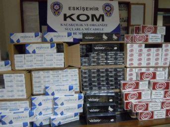 5 Bin 750 Paket Kaçak Sigara Ele Geçirildi