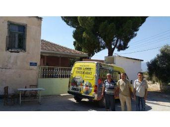 Ödemiş'te Cami Ve Okullar Temizleniyor