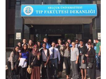 Abd'li Öğrenciler Selçuk Tıp'ta Eğitim Aldı