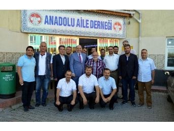 Başkan Ali Çetinbaş: Anadolu Aile Derneği'nin Faaliyetlerini Takdirle Karşılıyorum