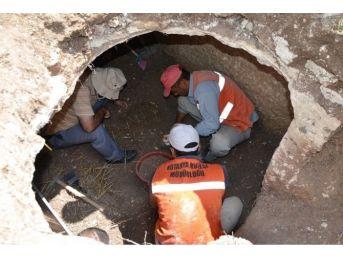 Kütahya Emet'te Tarihi Mezar Odası Bulundu