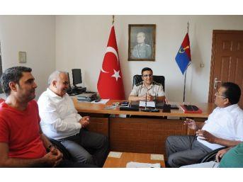 Jandarma Yüzbaşı Serkan Kozan Görevine Başladı