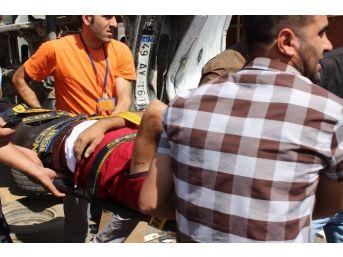 Muş'ta Kaza, 2 Yaralı