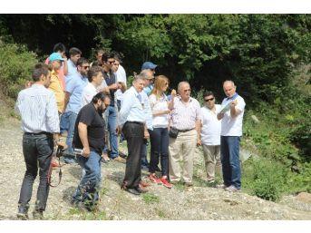 Sapanca Gölü'ne Alternatif Olacak Akçay Barajı'nda Çalışmalar Sürüyor