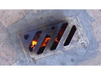 Mazgala Atılan Sigara Izmariti Yangın Çıkardı