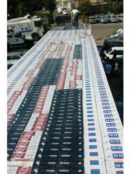 Şanlıurfa'Da 210 Bin Paket Kaçak Sigara Ele Geçti