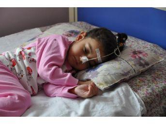 3 Yaşındaki Aslıhan Fizik Tedavi İçin Gata'ya Sevk Edildi