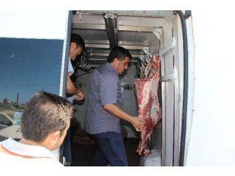 Etlerinin Kaçak Olmadığını İspat Etti Ama Aracı Bağlandı