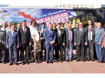 Afyonkarahisar'da Kültür Ve Turizm Çalıştayı Yıllık Değerlendirme Toplantısı