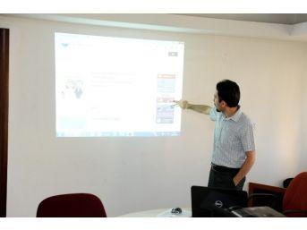 Altındağ'da Elektronik Belge Yönetimi Sistemi İçin Düğmeye Basıldı
