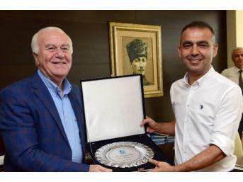 Kuddusi Müftüoğlu'dan Faruk Karaçay'a Ziyaret